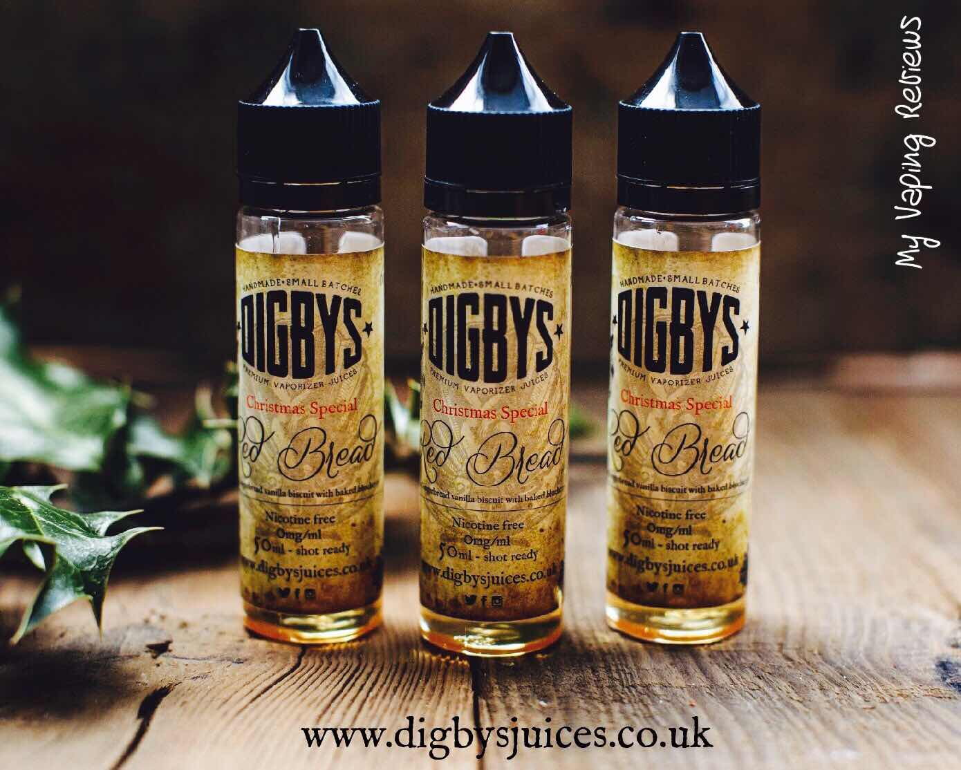 Digby's Red Bread Review | My Vaping Reviews