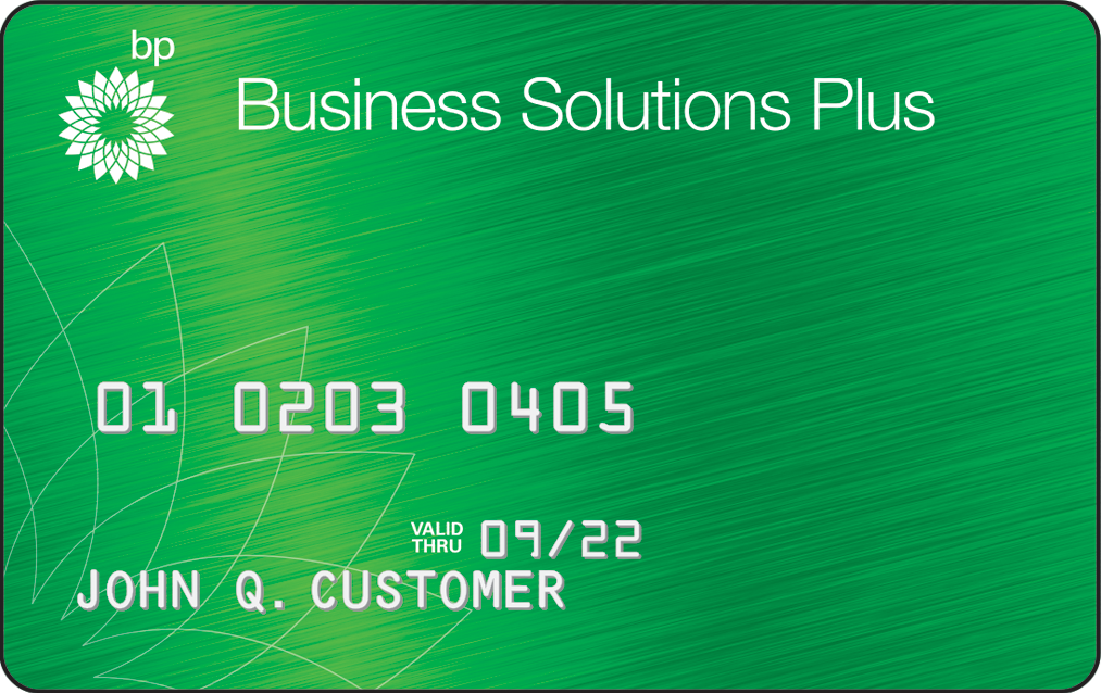 bp business solutions plus gas card