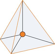 Image result for tetrahedral shape
