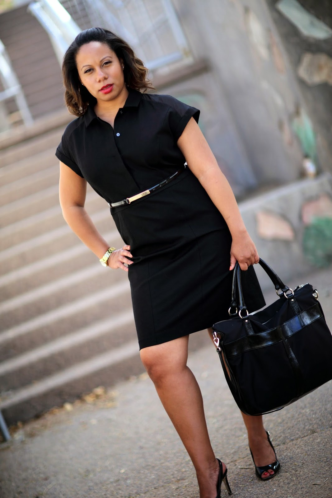 http://www.petitecareergirl.com/2014/05/a-little-black-shirt-dress.html