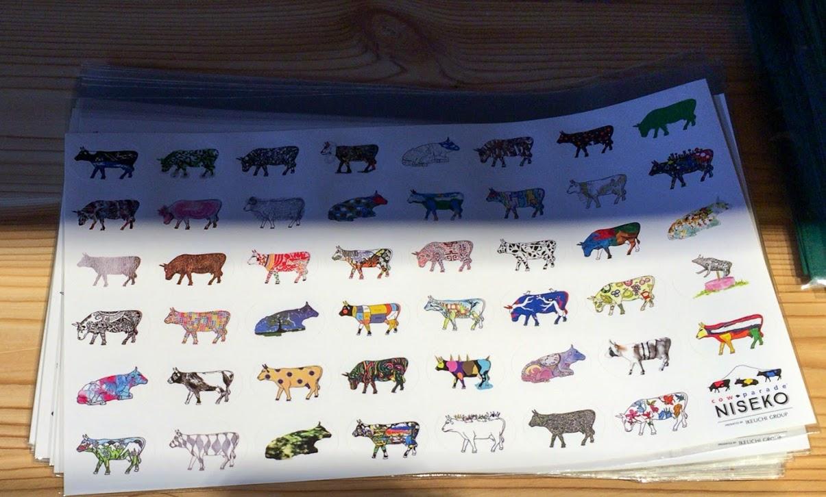 カウパレードニセコ2015・cow47体シール