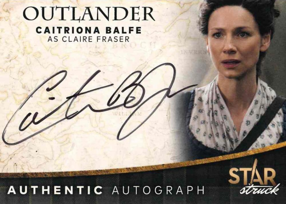 Outlander Trading Cards Season 4: Autograph Card