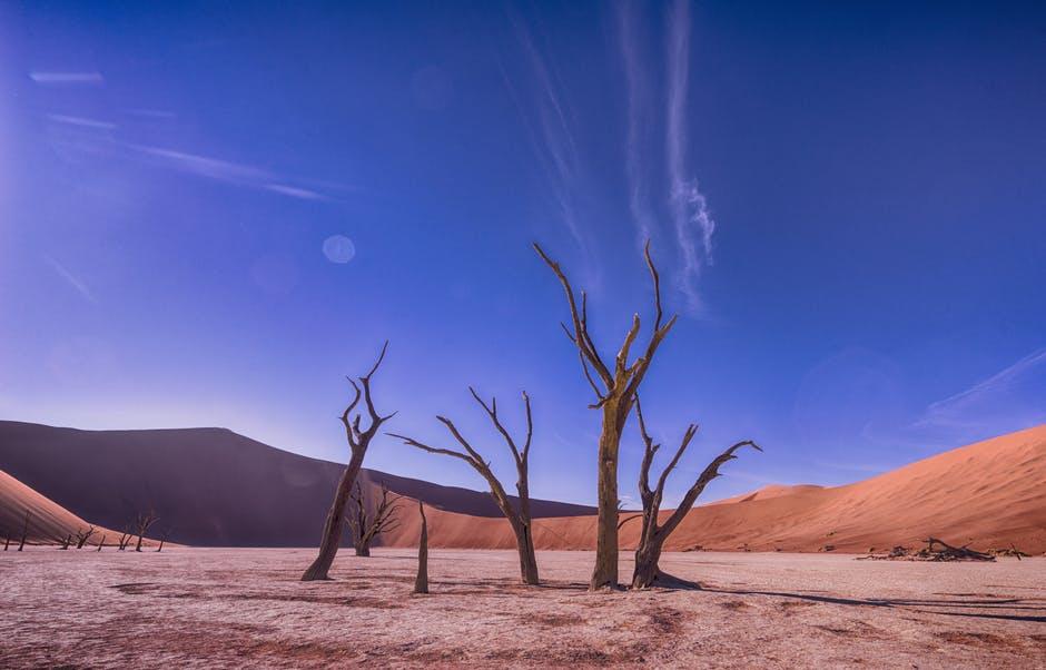 arid, clouds, daylight
