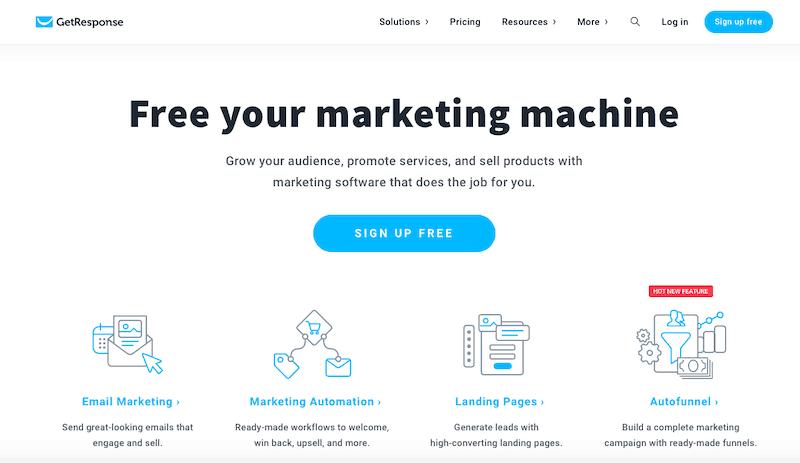 GetResponse Marketing Automation Software