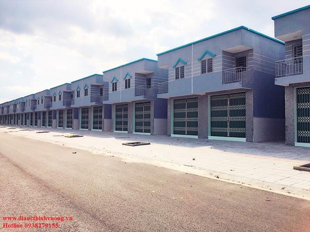 Mô hình nhà gồm 1 shophouse và 4 dãy trọ phía sau được quy hoạch và xây dựng