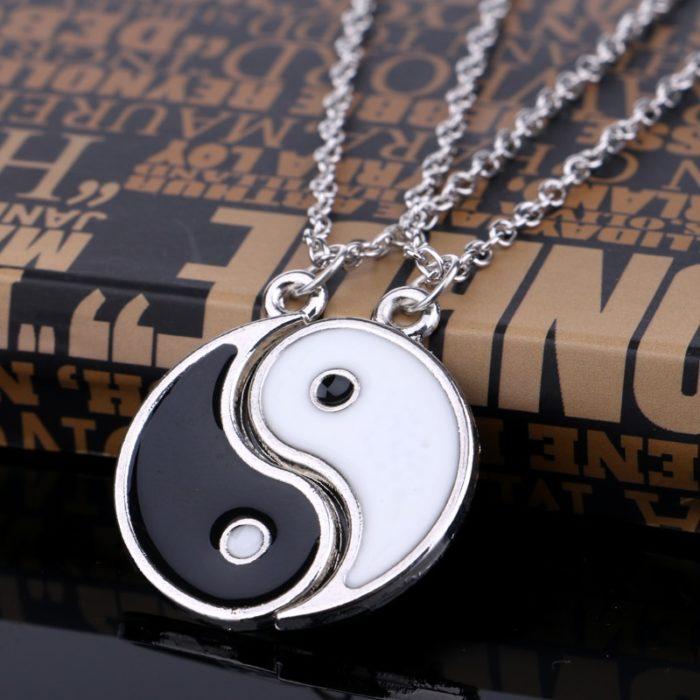 Yin Yang Necklace Couple Accessory