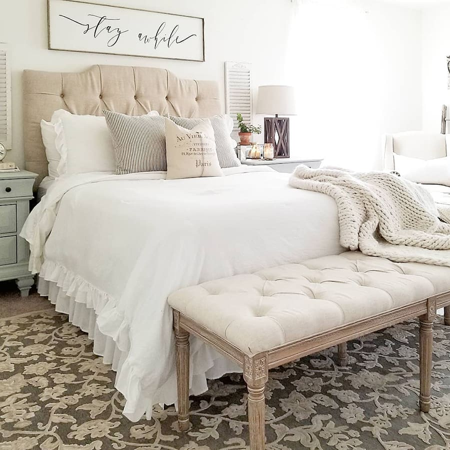 Soft Cream is Classic for Farmhouse Style