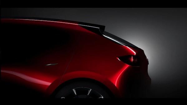 ภาพที่ Mazda ปล่อยออกมาโหมโรงงาน 'Tokyo Motor Show 2017' คาดว่าจะเป็นรถต้นแบบของ Mazda รุ่นใหม่