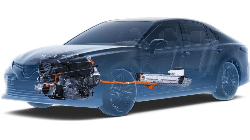 Гібридна система в Toyota Camry Hybrid