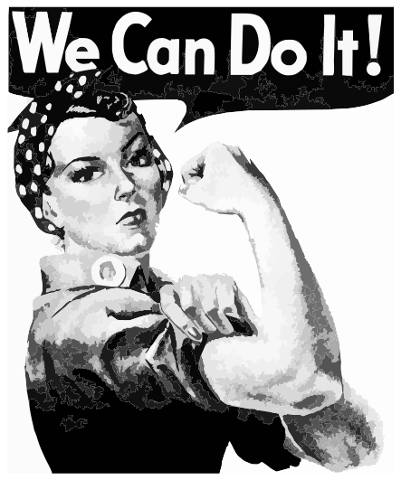 We can do it political image