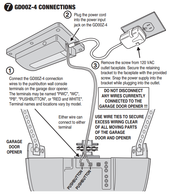 Garage Door Wiring Plug In - Trusted Wiring Diagram •