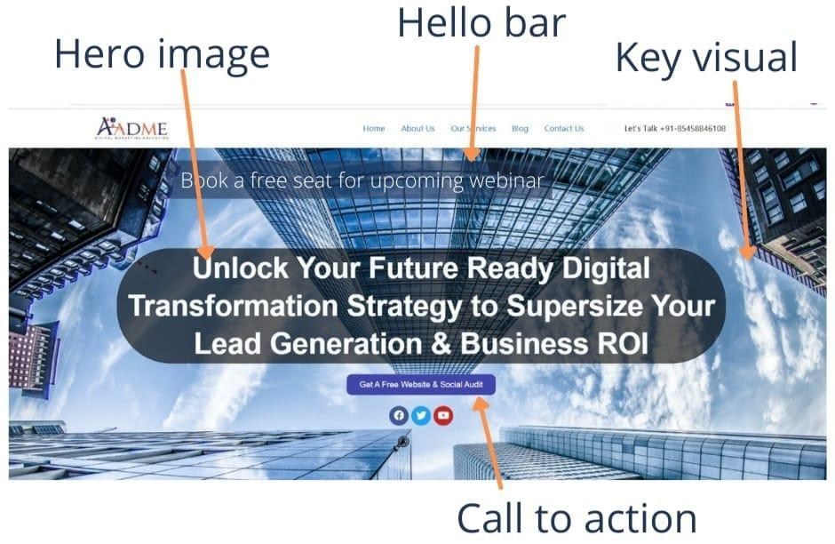 how to create digital marketing website