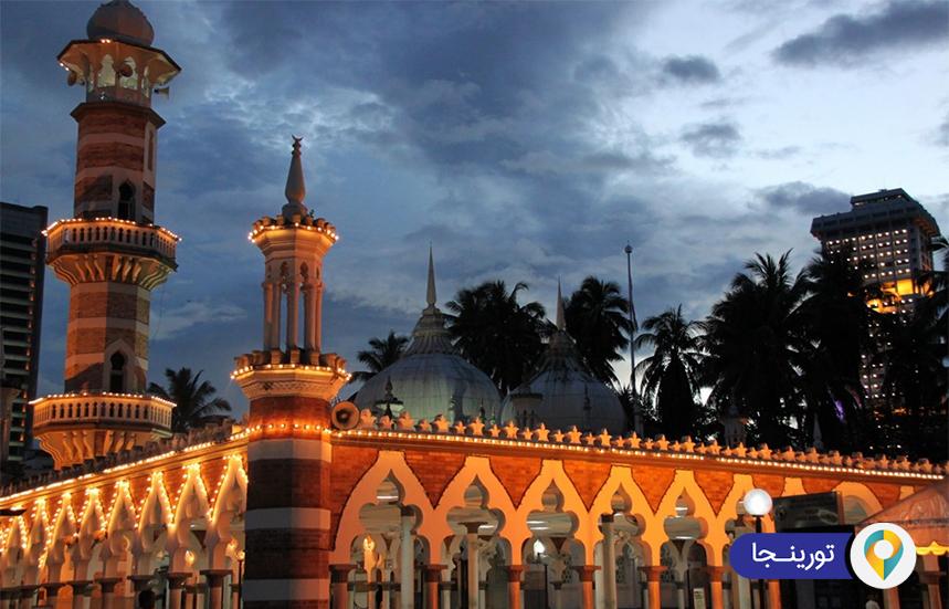 مسجد جامک در کوالالامپور