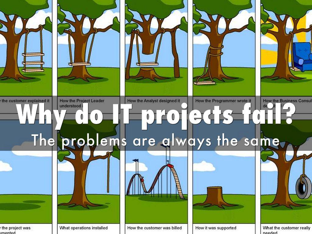 Image result for project IT fail