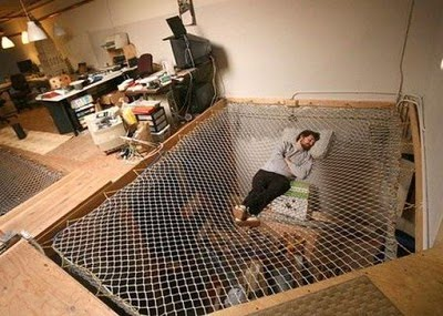 The Trampoline Bed