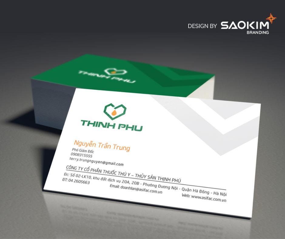 [Saokim.com.vn] Logo thương hiệu dược phẩm thú y Thịnh Phú thiết kế bởi Sao Kim Branding