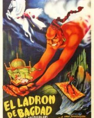 El ladrón de Bagdad (1940, L. Berger, M. Powell y T. Whelan)