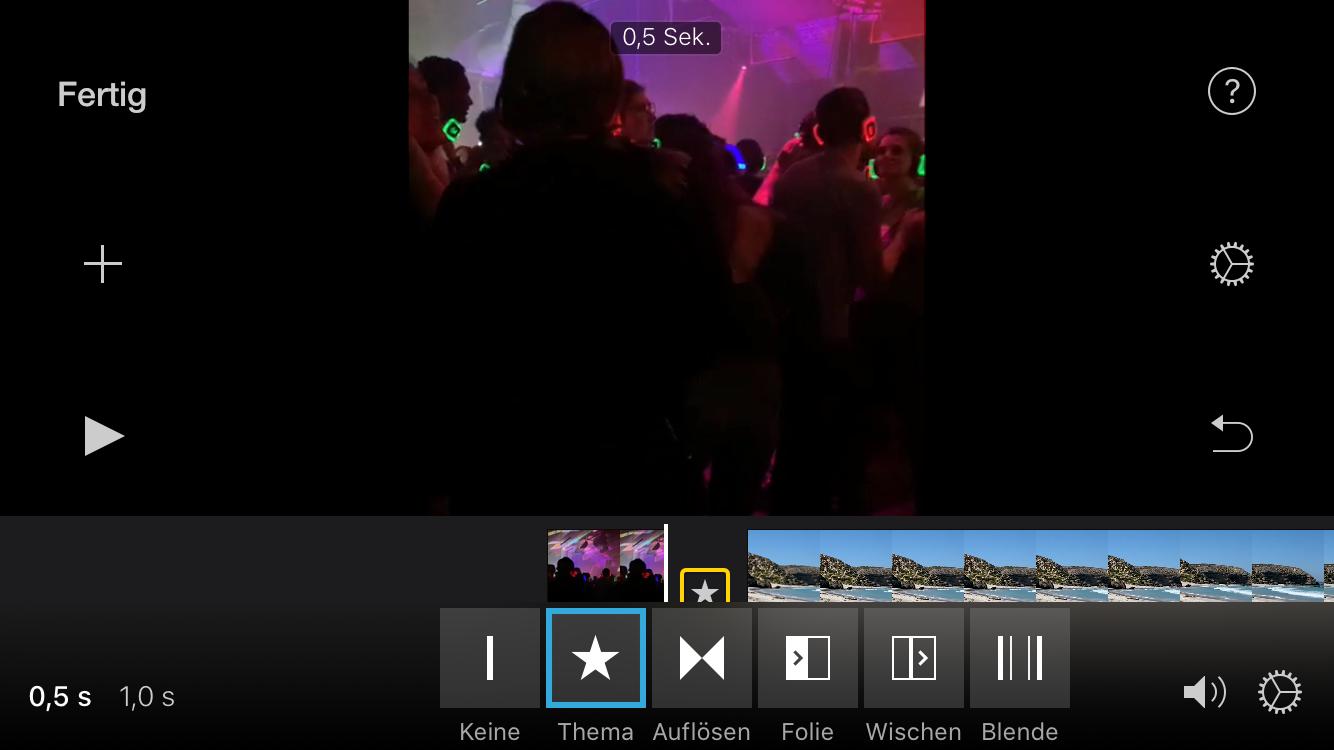 Videos schneiden iPhone