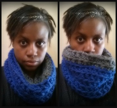 12 days of DIY crochet gifts to make: Day 8- small chunky cowl