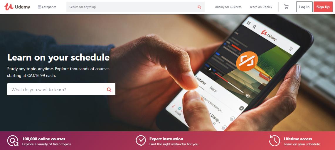 Online Course Platform - udemy
