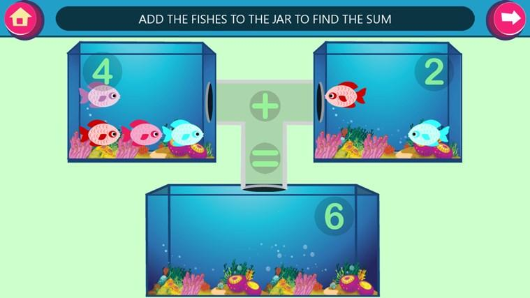 Kids Games - Learn Basic Math screen shot 5