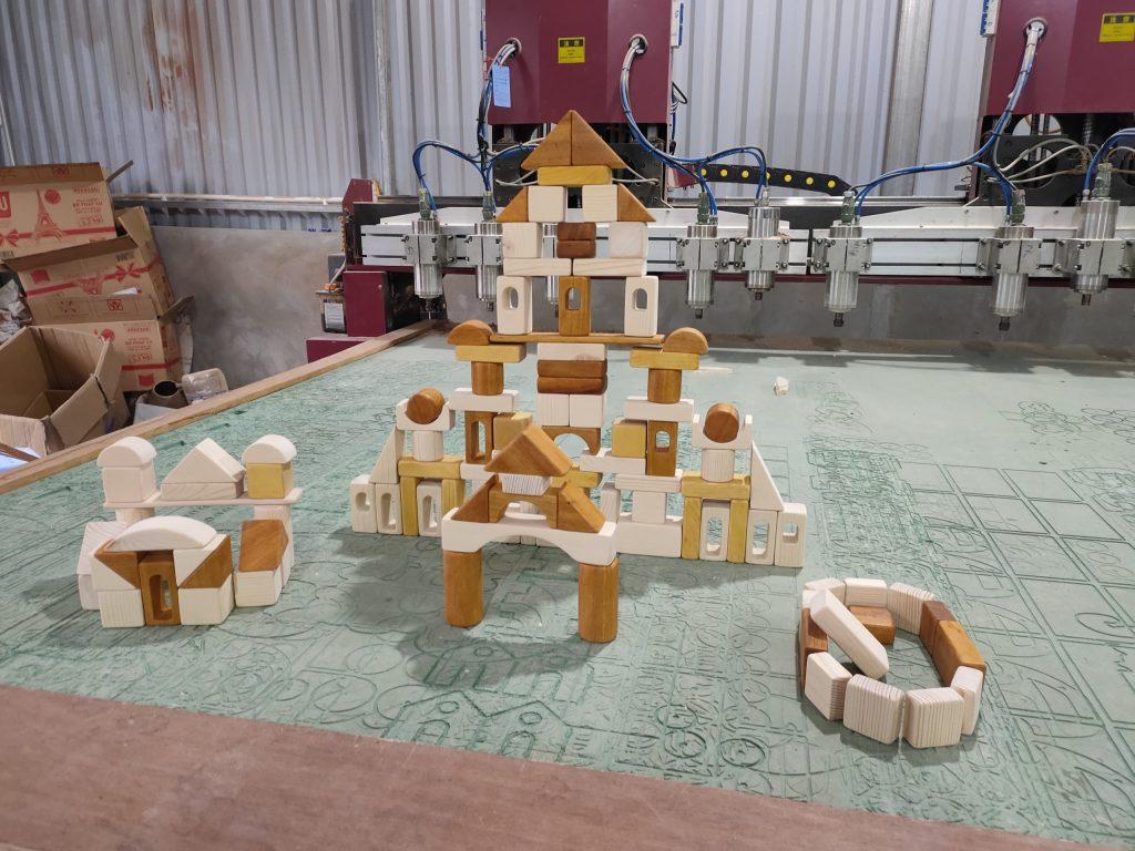 Yên tâm về chất lượng với xưởng làm đồ chơi gỗ của 5saokids.
