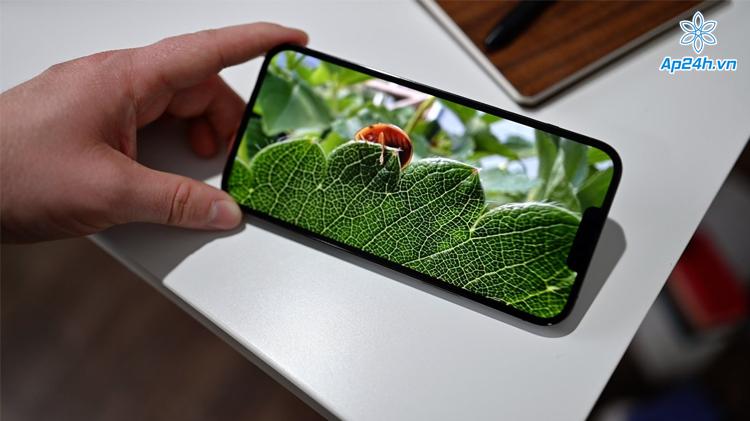 Màn hình tuyệt vời của iPhone 13 Pro Max
