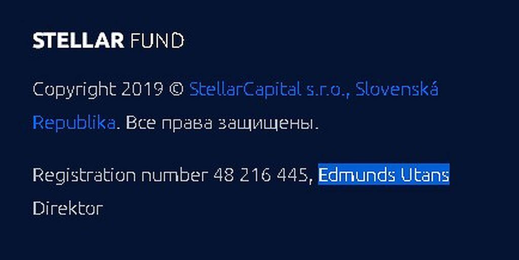 Независимый обзор Stellar Fund: маркетинг, отзывы