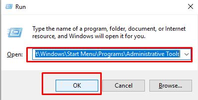 open registry through run prompt