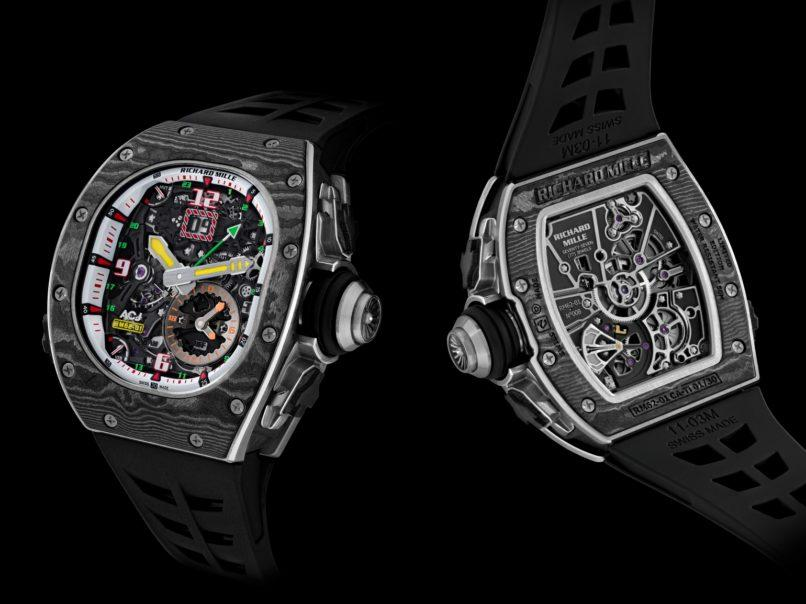 артинки по запросу Richard Mille RM 62-01 Tourbillon Vibrating Alarm ACJ