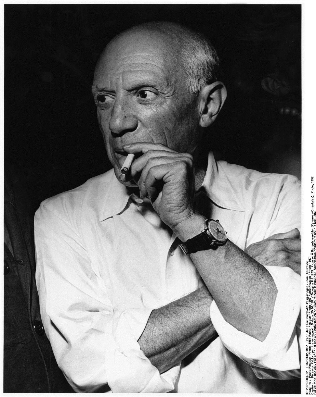 Pablo Picasso , een notoire dwarsdenker bis( Bron Isopix)