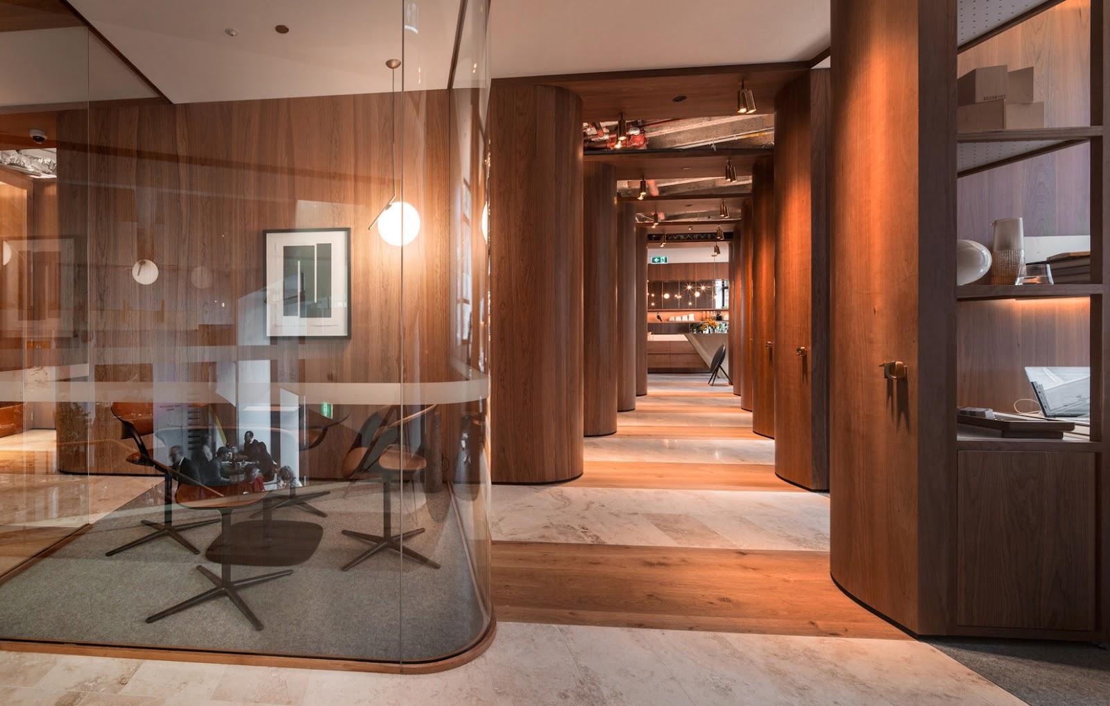 Sơn hiệu ứng Waldo-Văn phòng thiết kế phong cách truyền thống