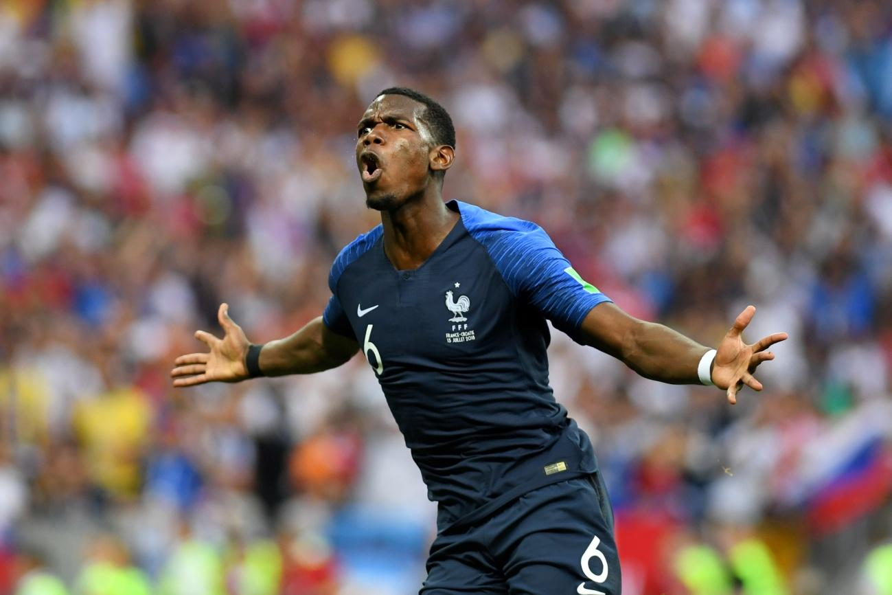 C:\Users\Carla\Desktop\Copa do Mundo 2018 - RUSSIA\França\Final\Galeria da campea\Pogba comemora seu gol.jpg