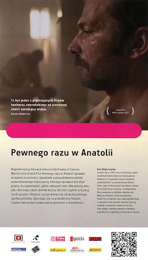 Tył ulotki filmu 'Pewnego Razu W Anatolii'