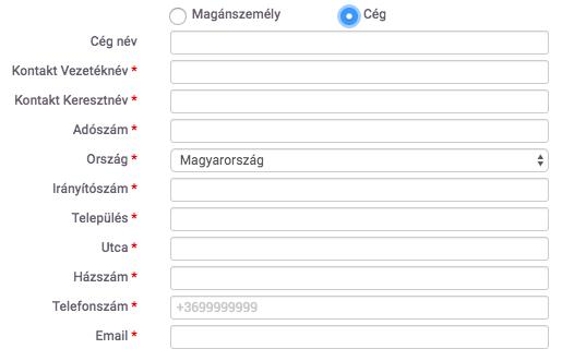 Domain tulajdonosi adatok