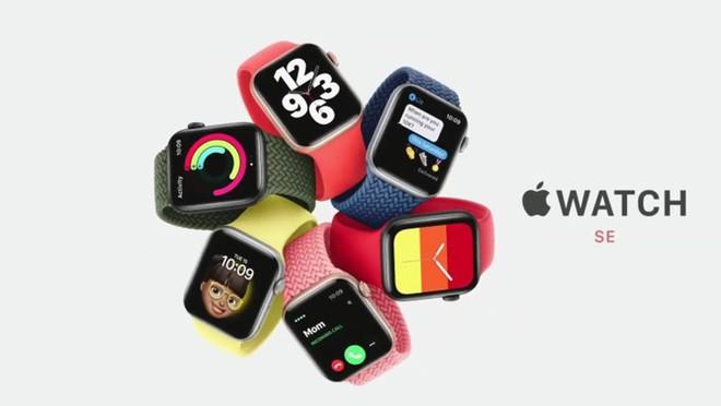 Giá bán khởi điểm của Watch SE thấp hơn nhiều so với Watch Series 6 /// Ảnh: Apple