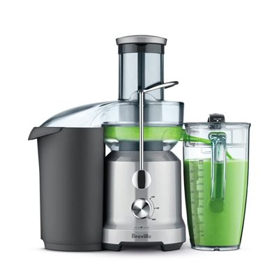 Breville BJE430SIL Juice Fountain Cold Press Juice Extractor