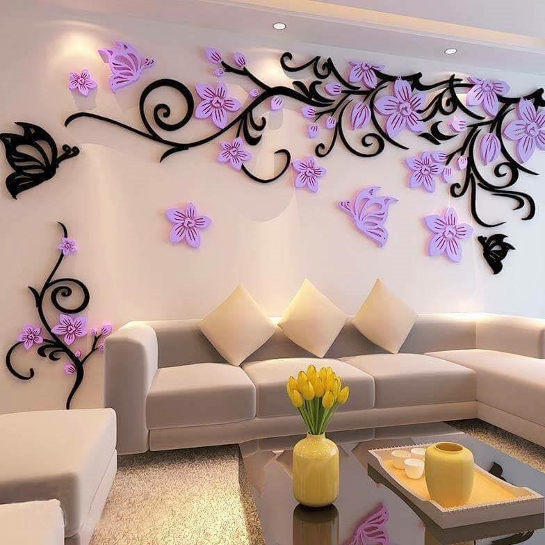 Can you imagine spring in your living room? Looks beautiful