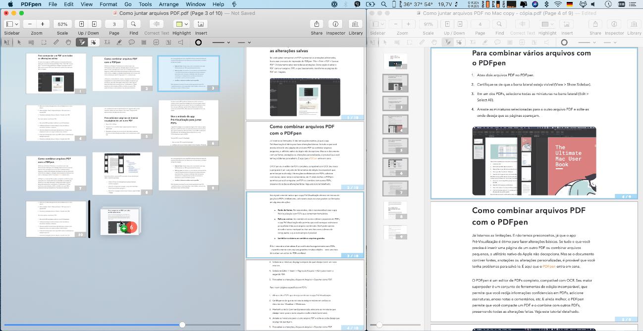 Conheça as melhores maneiras de juntar arquivos pdf no mac. Os arquivos pdf são uma ótima maneira de transferir documentos pela internet, aprenda agora como juntar arquivos pdf usando o macos