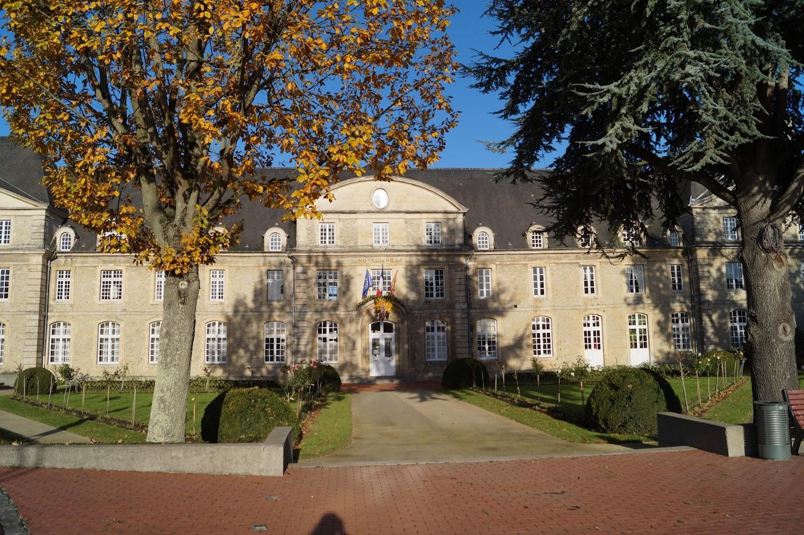 Carentan's town hall