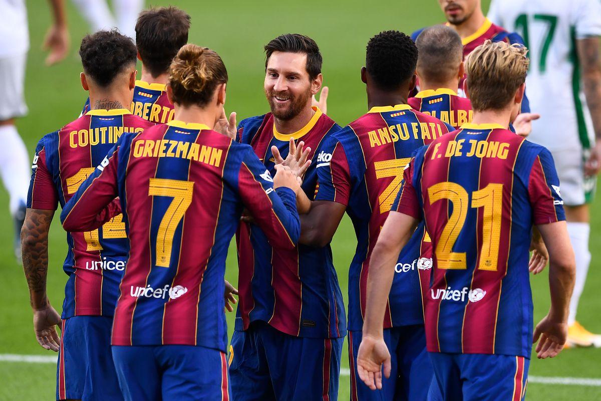 Messi Menggila, Barcelona Menang Telak 3-0 Atas Elche