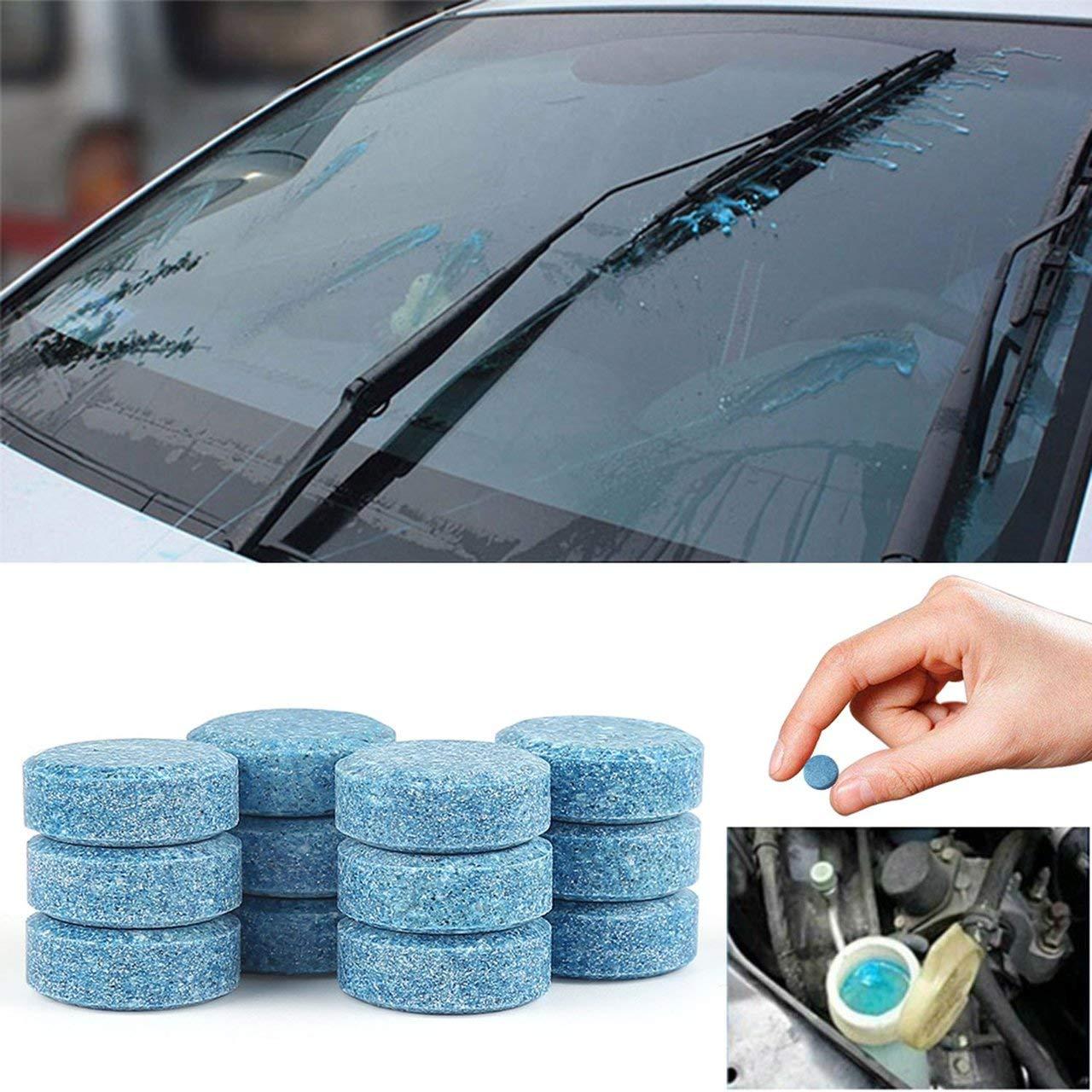 10Pcs Effervescent Car Cleaner Tablets