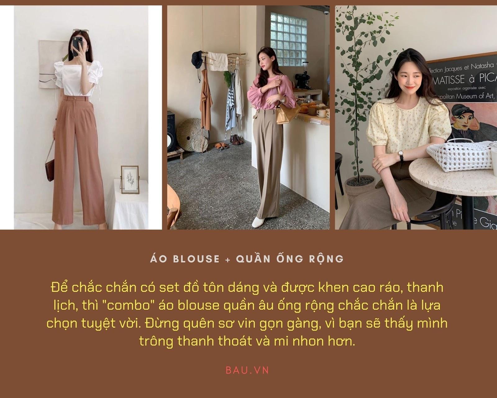 Những tips kết hợp áo blouse cho các cô nàng năng động - ảnh 2