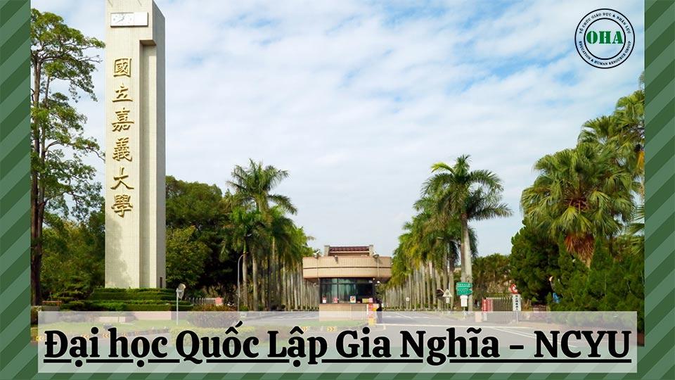Đại học Quốc Lập Gia Nghĩa - NCYU