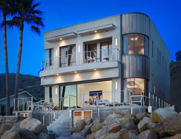 Beach House ramah lingkungan milik aktor Bryan Cranston - source: home-designing.com