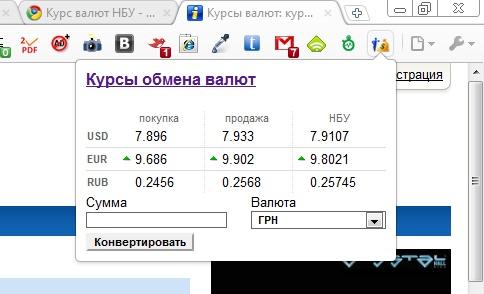 Курс валют в украине конвертер