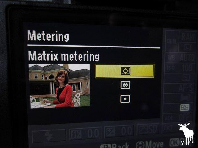 نورسنجی ماتریسی (Matrix Metering) یا ارزیابی کننده (Evaluative Metering)