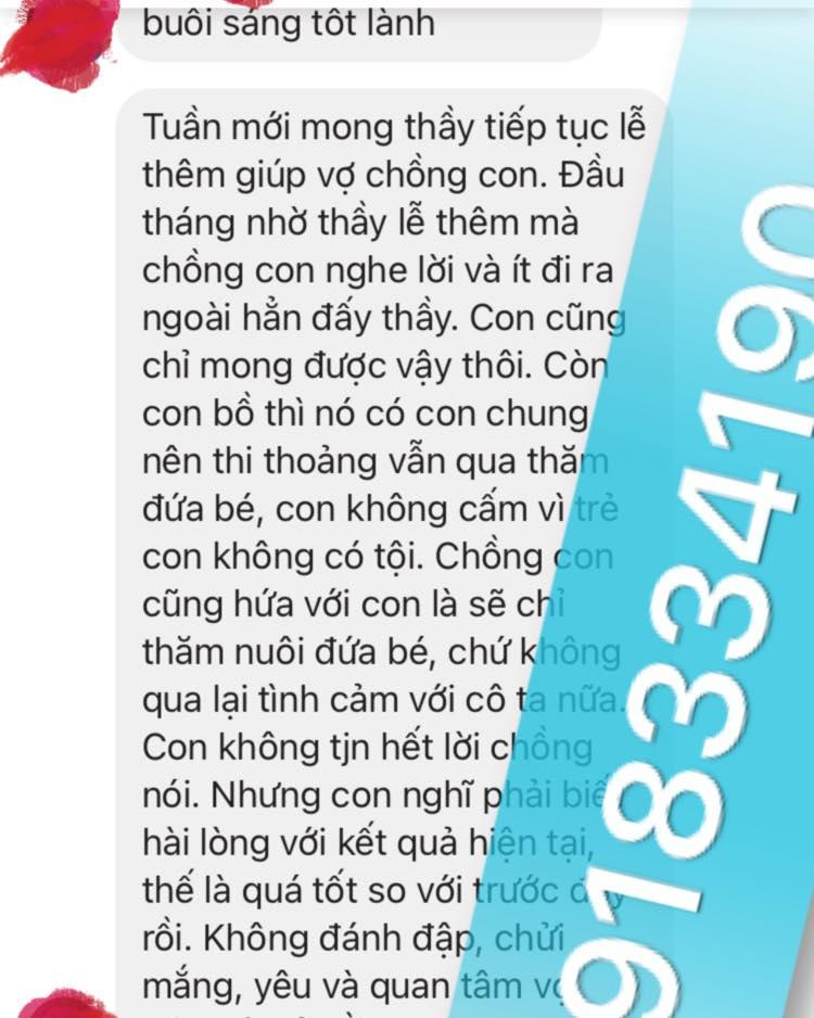 Thầy làm bùa yêu ở Tây Ninh