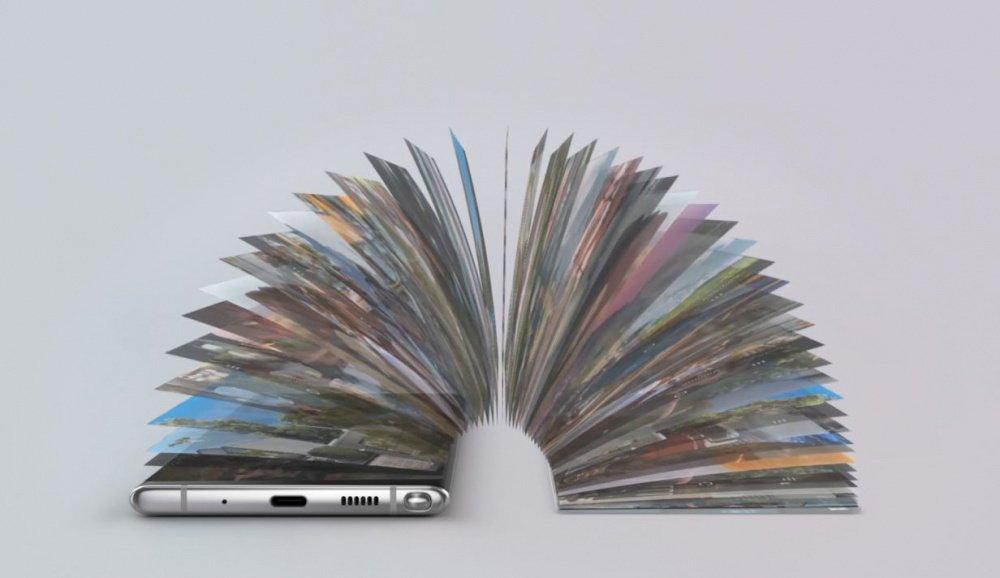 управление одним взмахом у Samsung Galaxy Note 10