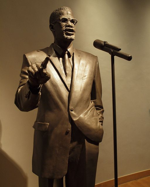 Malcolm X Statue, Shabazz Memorial and Educational Center ...